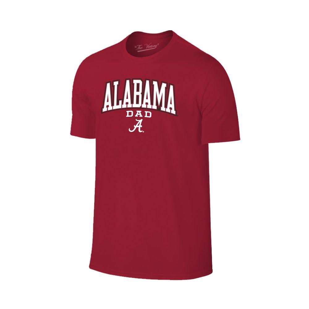 Alabama Arch Logo Dad Tee Shirt
