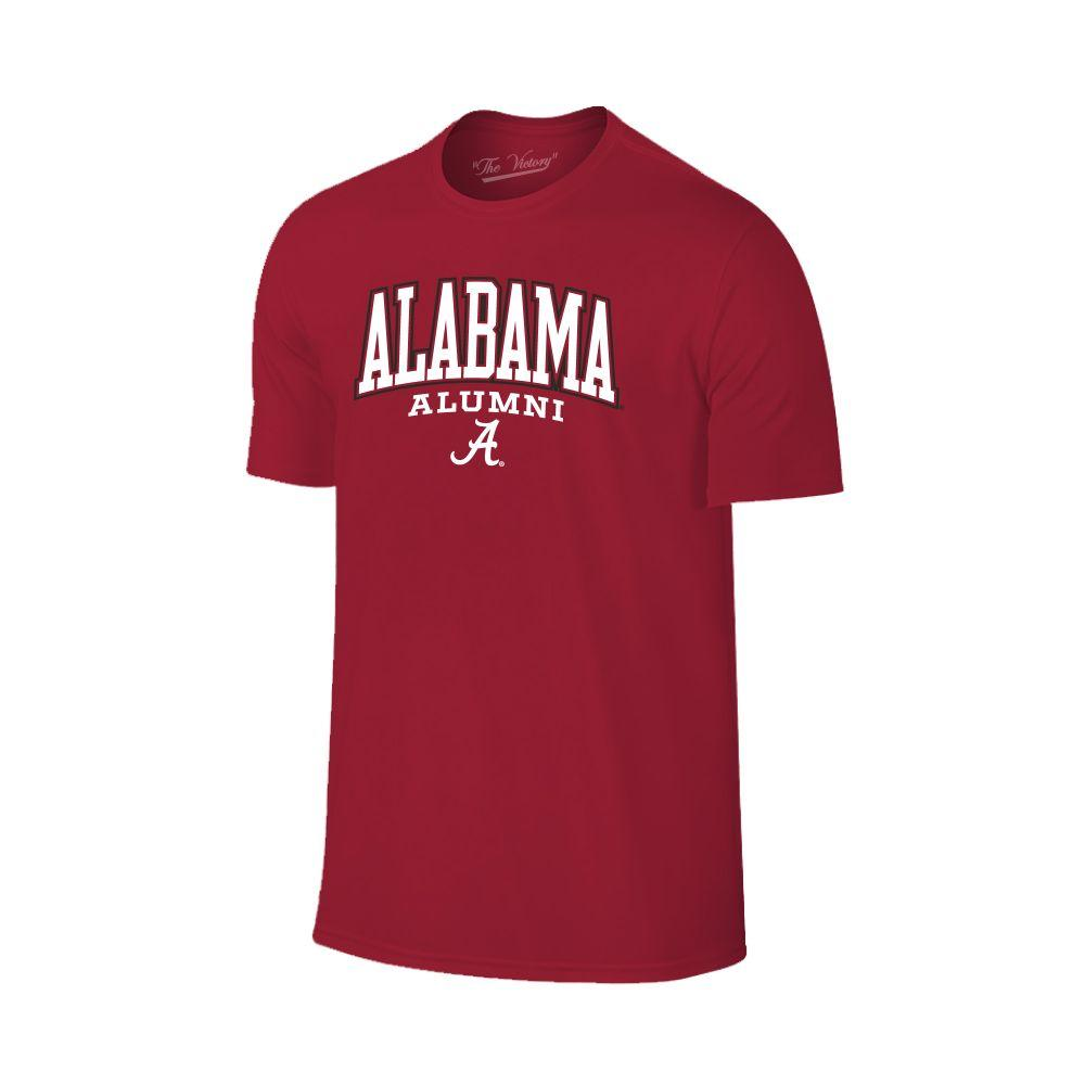 Alabama Arch Logo Alumni Tee Shirt