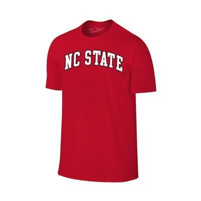NC State Men's Arch Logo Tee Shirt