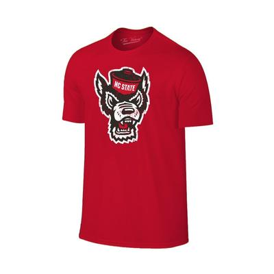 NC State Men's Giant Wolf Logo Tee Shirt