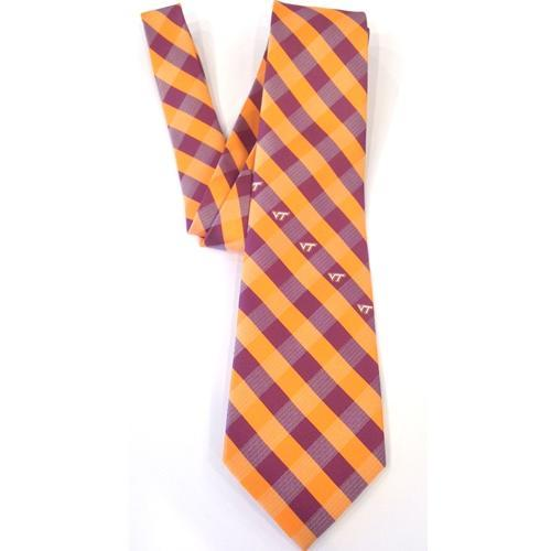 Virginia Tech Check Tie