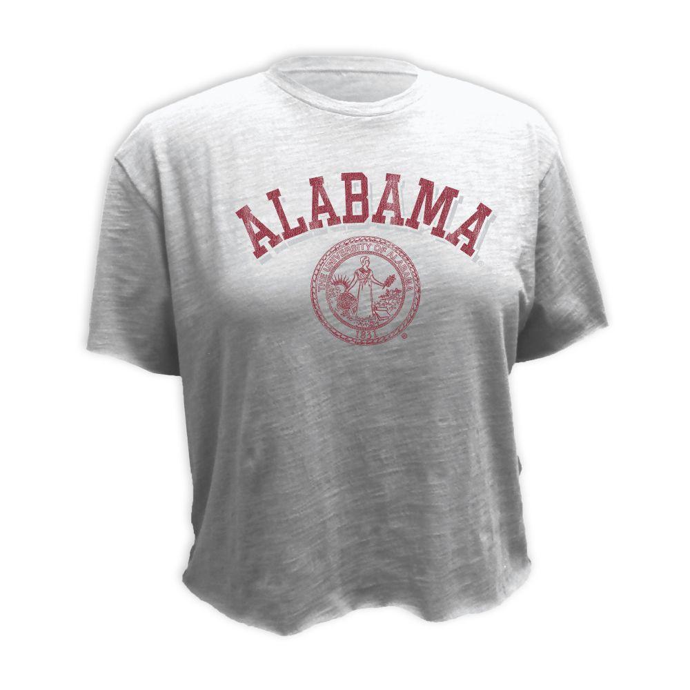 Alabama Retro Brand Vault Boyfriend Crop Top
