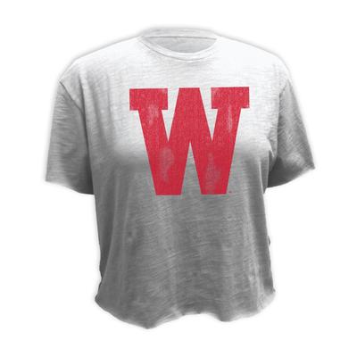 Western Kentucky Retro Brand Vault Boyfriend Crop Top