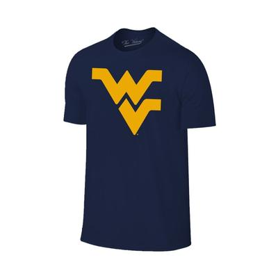 West Virginia Men's Giant WV Logo Tee Shirt