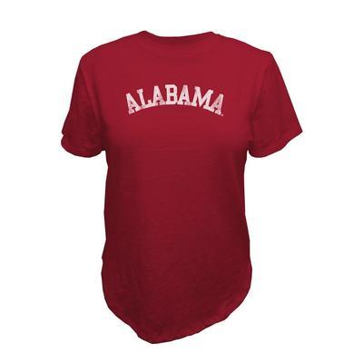 Alabama Retro Brand Vault Slub Crew Tee