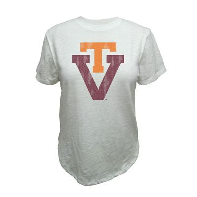 Virginia Tech Retro Brand Vault Slub Crew Tee