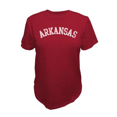 Arkansas Retro Brand Vault Slub Crew Tee