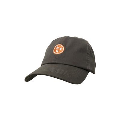 Volunteer Traditions Kids Grey & Orange Tri-star Hat