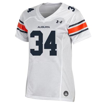 Auburn Under Armour Women's #34 Jersey