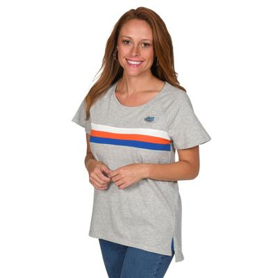 Florida University Girl Grey Trim Tee