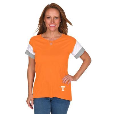 Tennessee University Girl Criss Cross Top
