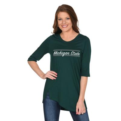 Michigan State University Girl Sharkbite Tunic