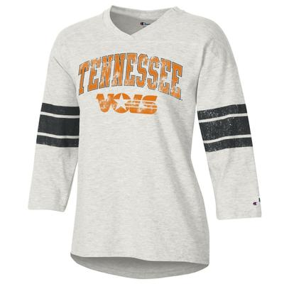 Tennessee Women's Rochester Slub Football Tee Shirt