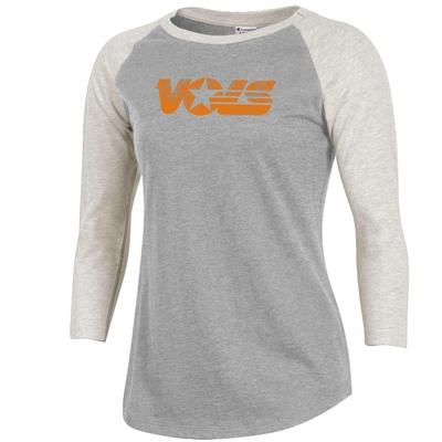 Tennessee Champion Women's Rochester Baseball Tee
