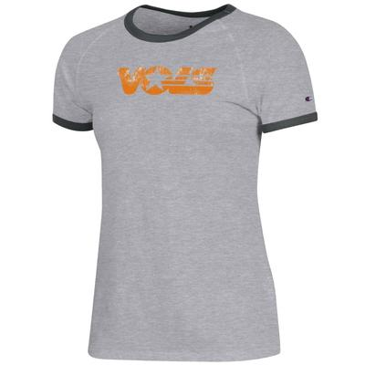 Tennessee Champion Women's Rochester Ringer Tee
