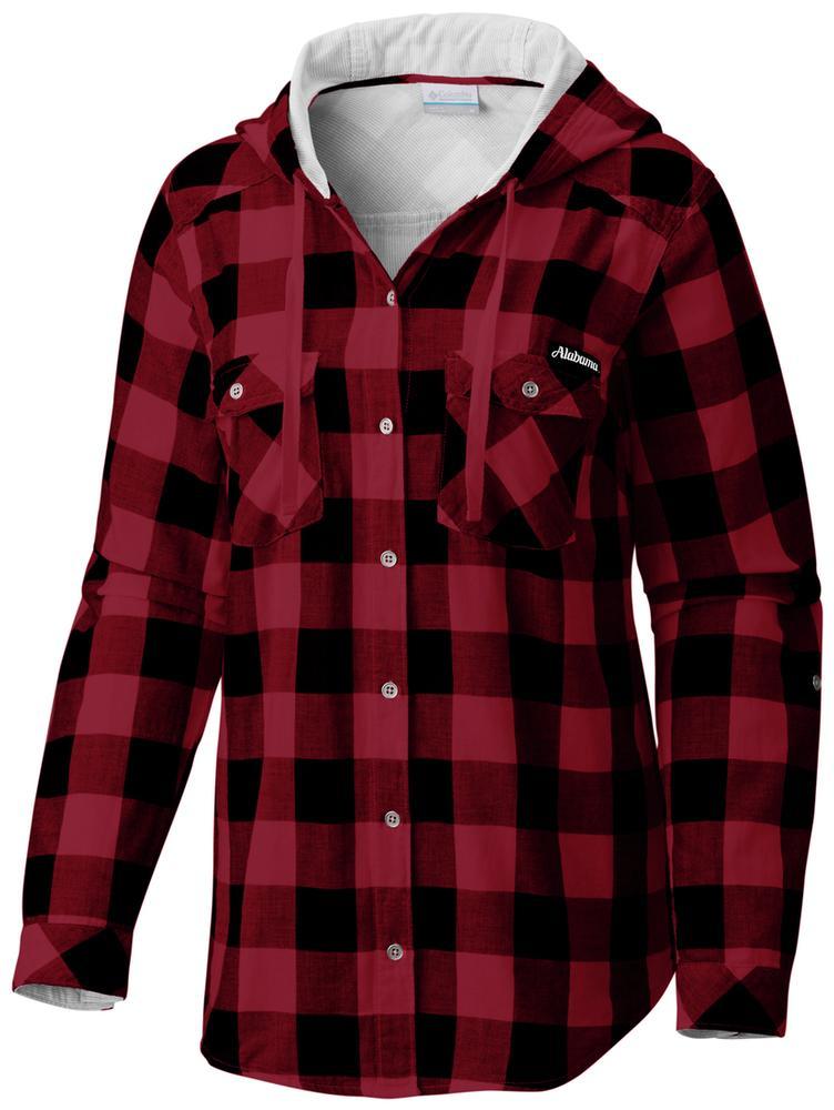 Alabama Columbia Women's Times Two Hooded Long Sleeve Shirt