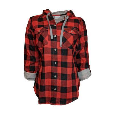 Georgia Columbia Women's Times Two Hooded Long Sleeve Shirt