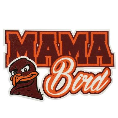 Virginia Tech Mama Bird Decal