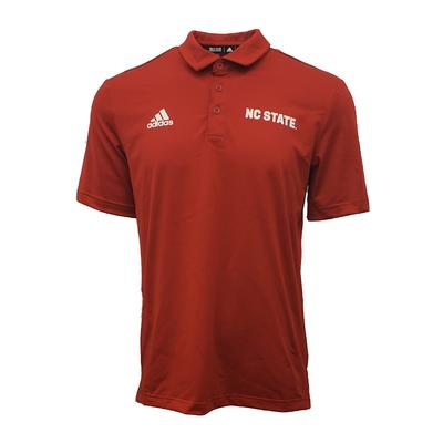 NC State Adidas Men's Coordinator Game Mode Polo