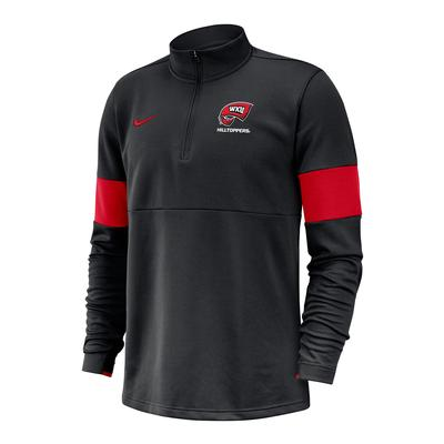 Western Kentucky Nike 1/2 Zip Coaches Pullover