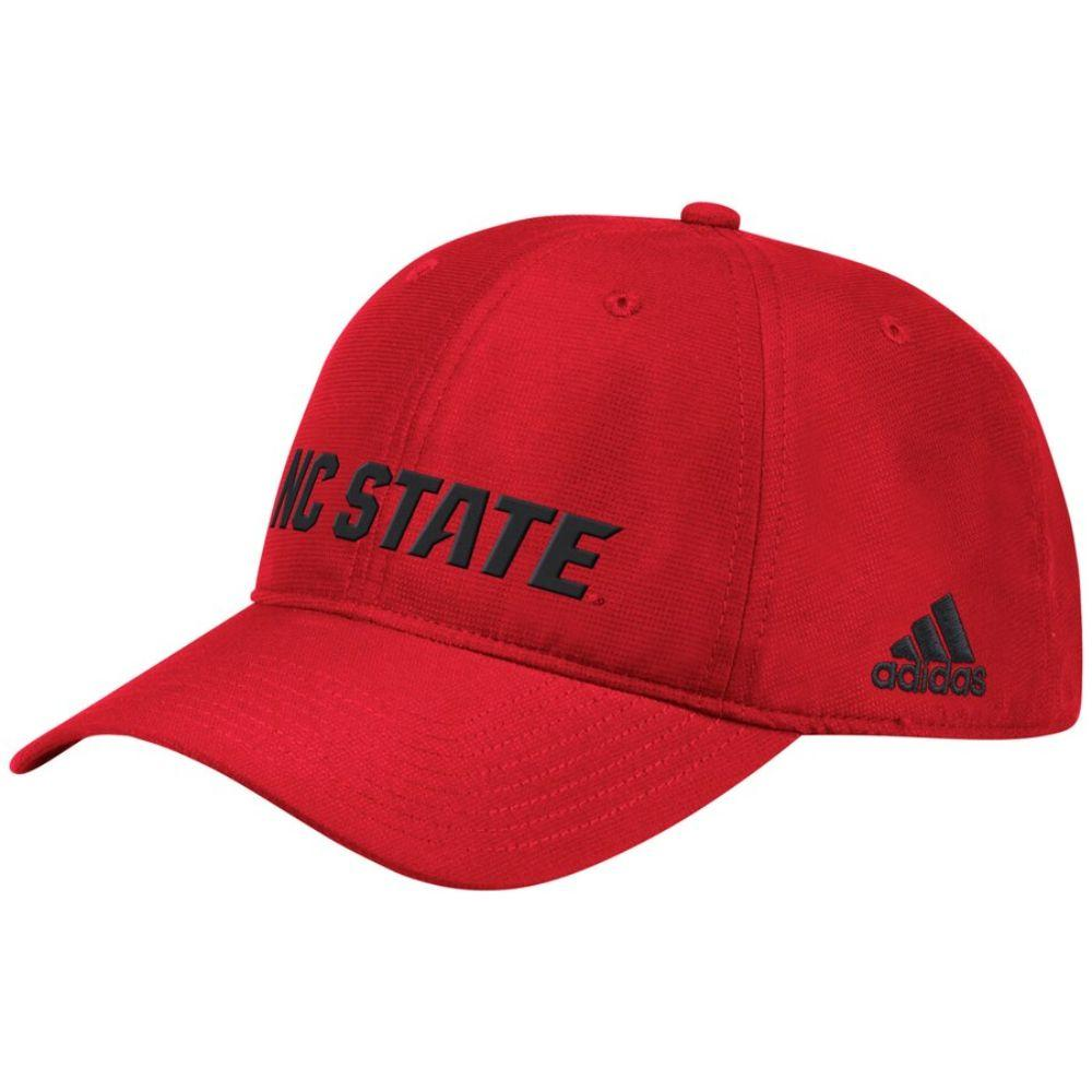 Nc State Adidas Men's Sideline Climalite Adj Hat