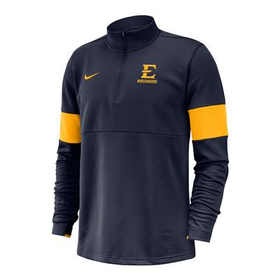 ETSU Nike 1/2 Zip Coaches Pullover