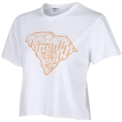 Clemson Vista Humble Crop Top