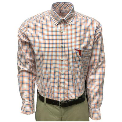 Royal & Orange Frederick Martin Box Plaid Dress Shirt