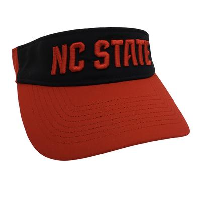 NC State Adidas Men's Climacool Visor RED