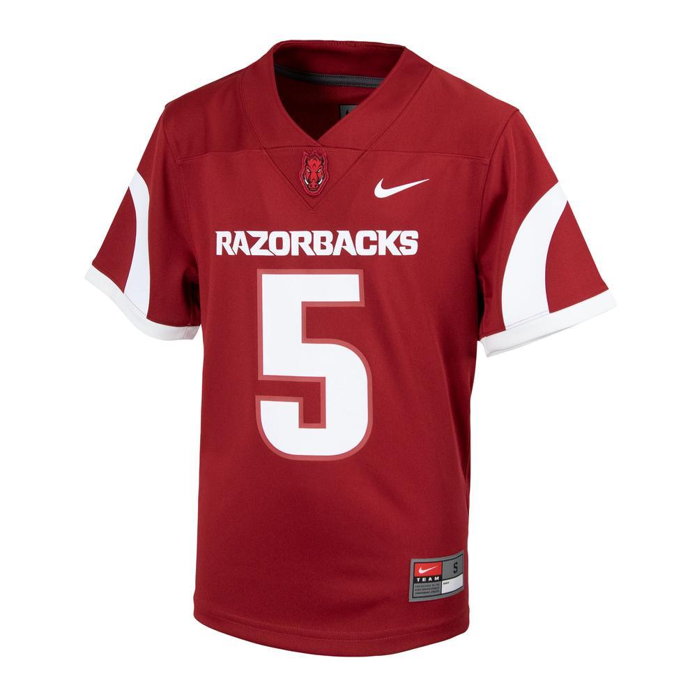 Arkansas Nike Youth Replica # 5 Jersey