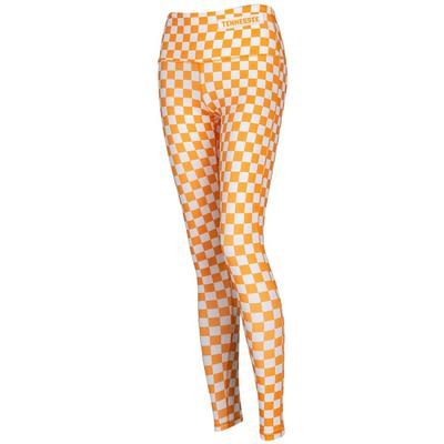 Tennessee Checkerboard Spirit Leggings