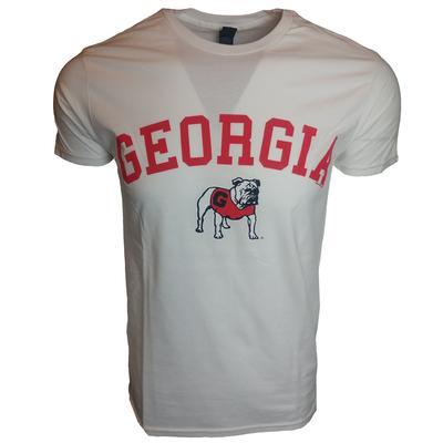 Georgia Arch w Standing Bulldog Tee Shirt