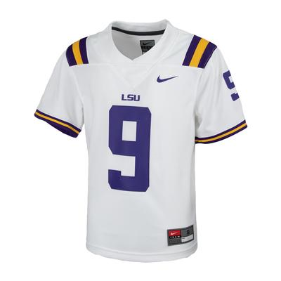 LSU Nike Youth Replica #9 Home Jersey