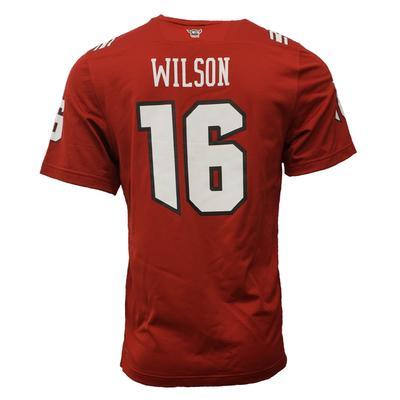 NC State Adidas Men's #16 Wilson NFLPA Replica Jersey