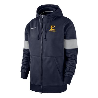 ETSU Nike Full Zip Therma Hoody