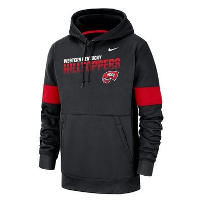 Western Kentucky Nike Pullover Therma Hoody