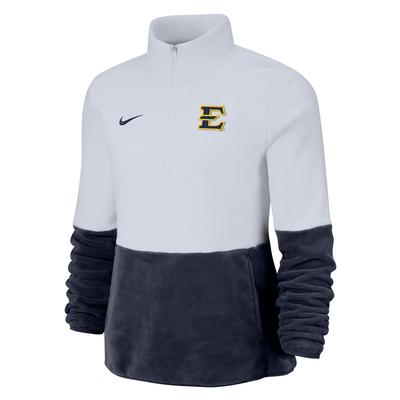 ETSU Nike Women's Micro-fleece 1/2 Zip Pullover