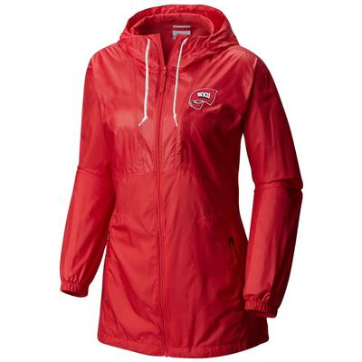 Western Kentucky Columbia Women's Flashback Windbreaker
