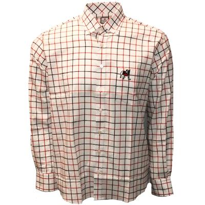 Georgia Bulldogs Frederick Martin Plaid Dress Shirt