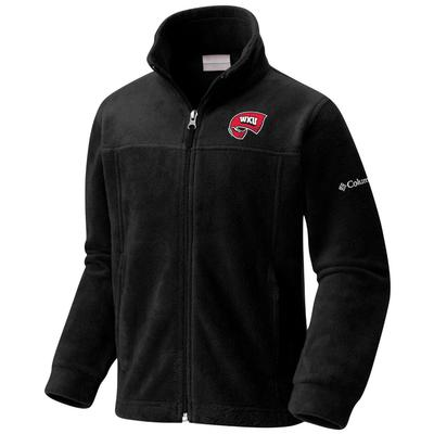 Western Kentucky Columbia Youth Flanker Full Zip Fleece