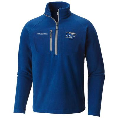 MTSU Columbia Men's Fast Trek III 1/2 Zip Pullover