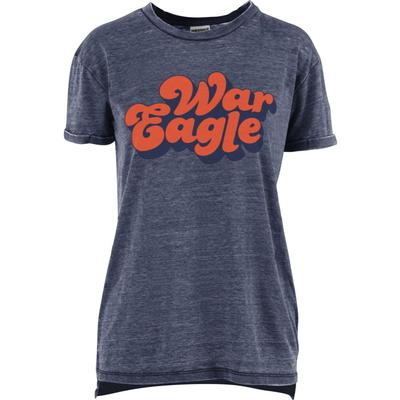 Auburn Women's Pressbox Groovy Tee Shirt