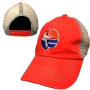 Florida Vault Circle Logo Orange Meshback