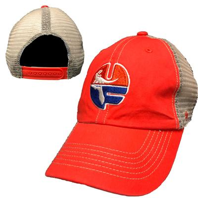 Florida Vault Circle Logo Orange Meshback
