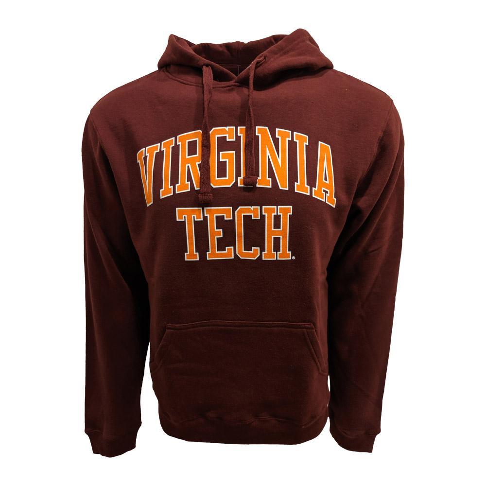 Virginia Tech Arch Straight Hooded Sweatshirt