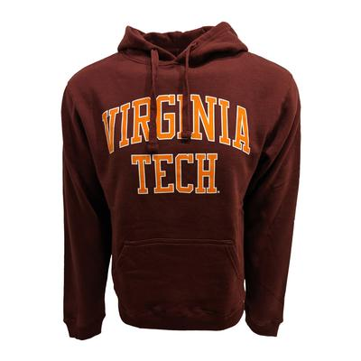 Virginia Tech Arch Straight Hooded Sweatshirt
