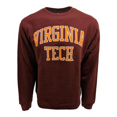 Virginia Tech Arch Straight Crew Sweatshirt