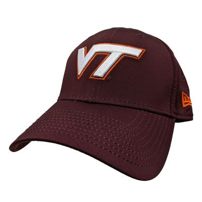 Virginia Tech New Era Performance Fitted Hat