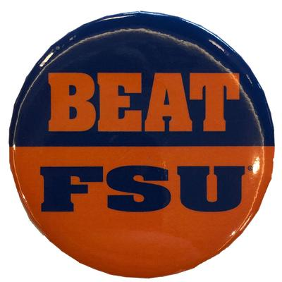 Florida Beat FSU Button