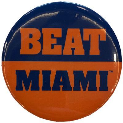 Florida Beat Miami Button